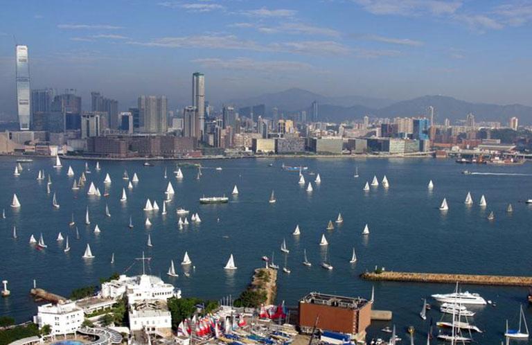 Royal Hong Kong Yacht Club, Kellett Island